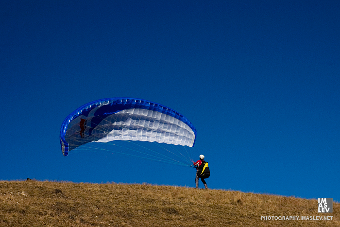 Colors paragliders