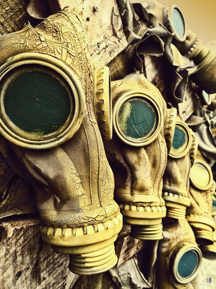 Old Chemical masks